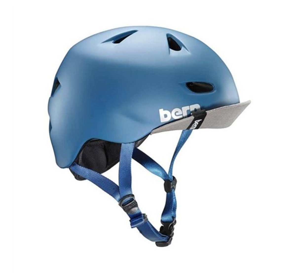 Casque BERN Brentwood Summer Steel Blue