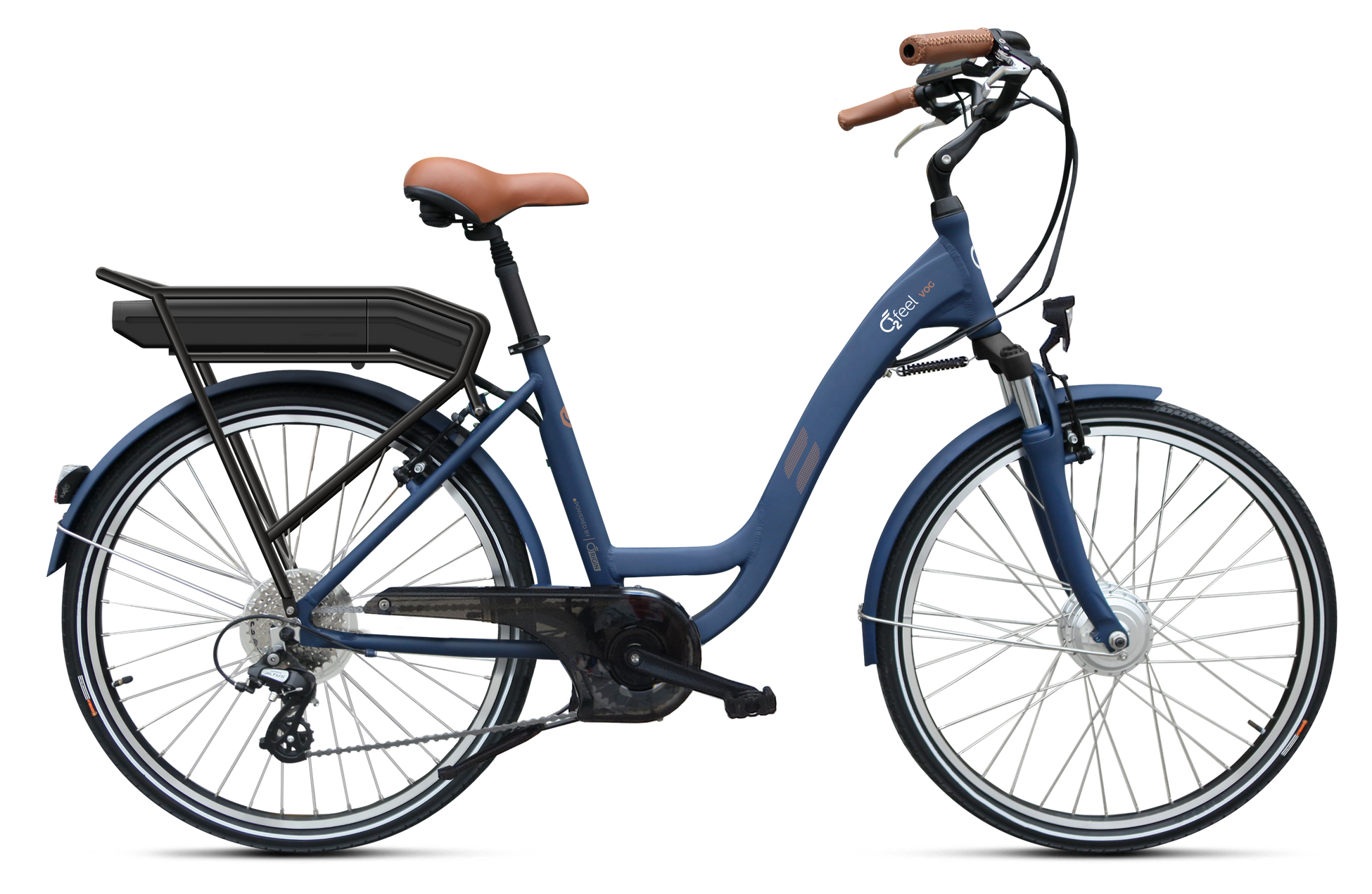 "VOG D7 O2FEEL  26"" Bleu satiné"
