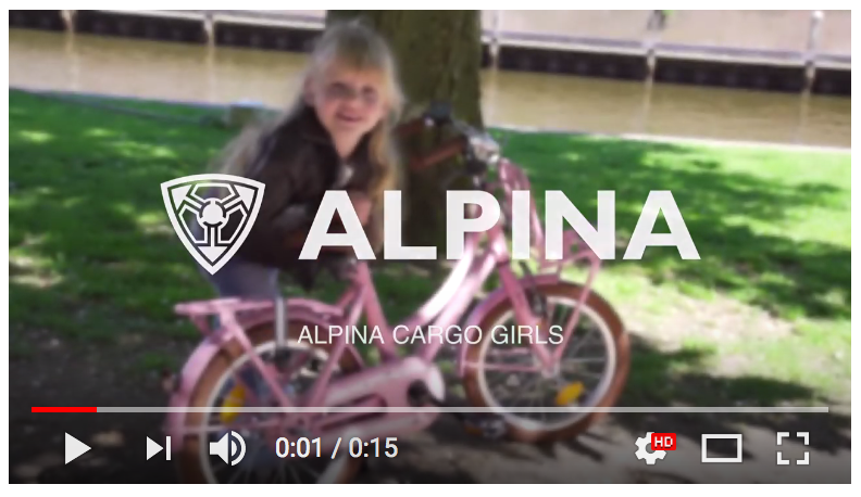 video alpina fietsen