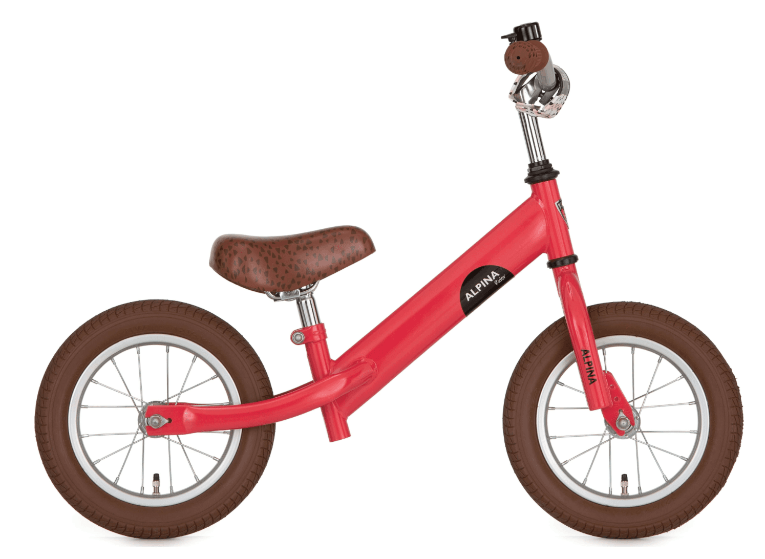 Draisienne Alpina Rider Rose Coral 12""