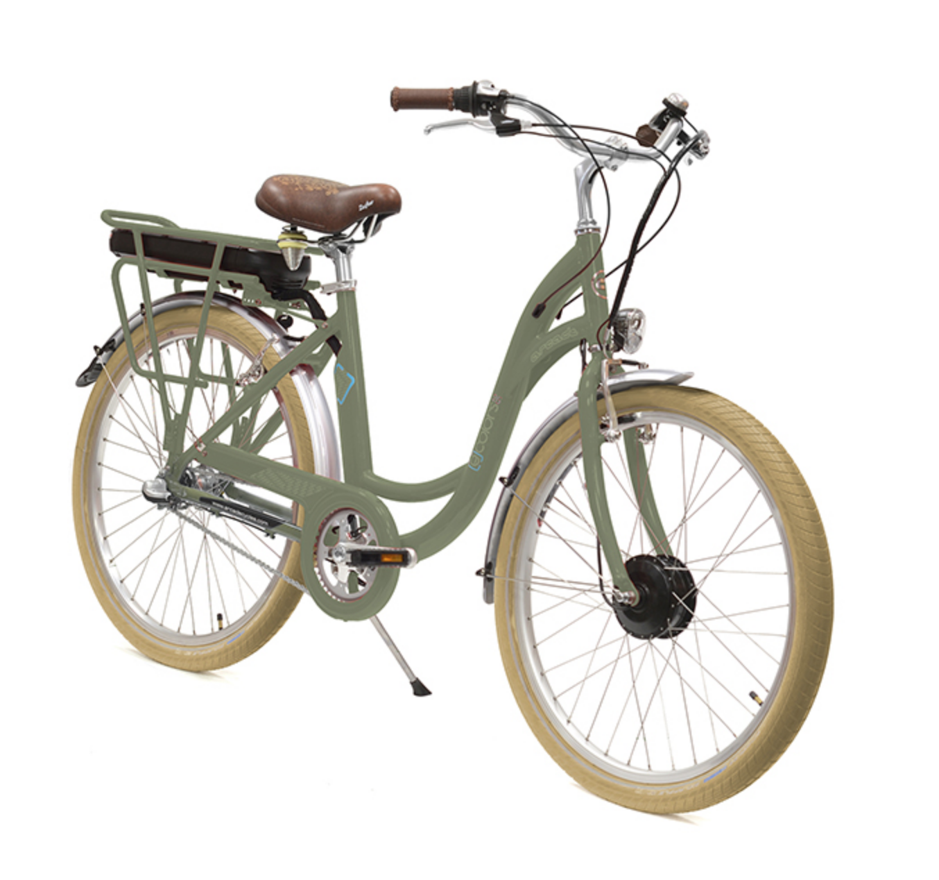 E-Colors Vert de Gris 3V - Arcade Cycles