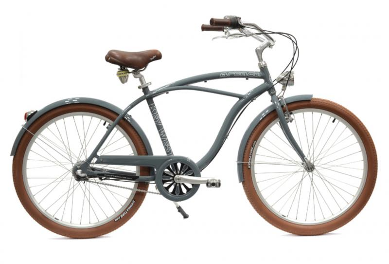 Vélo Beach Key West Homme Arcade Gris