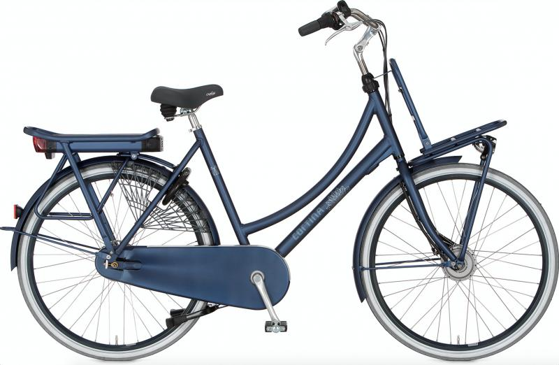 Cortina E-Roots Transport Maman 2018- 36 volt Polish Blue Matt