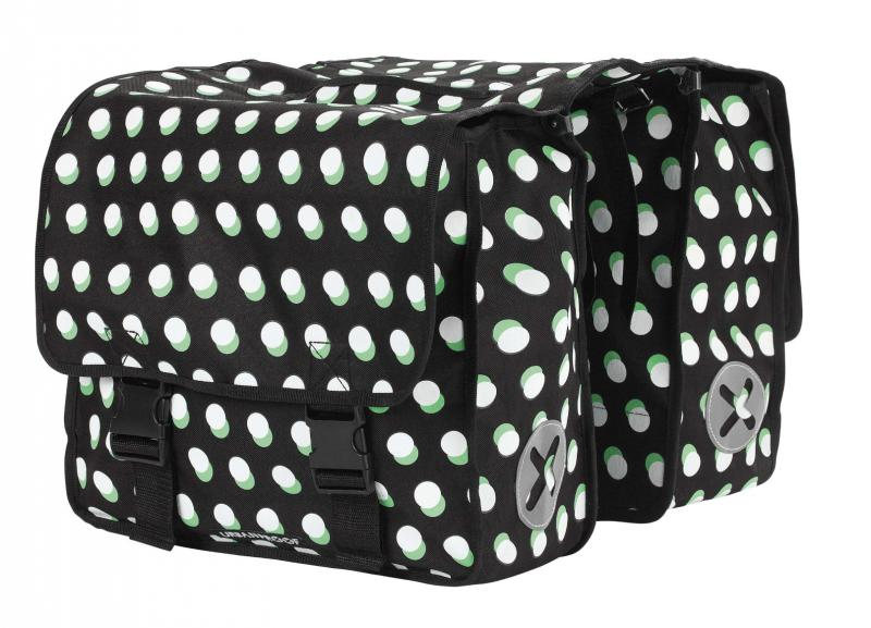 Sacoche double URBAN PROOF Dots Black