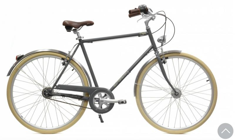 Vélo Coffee Homme Arcade Gris