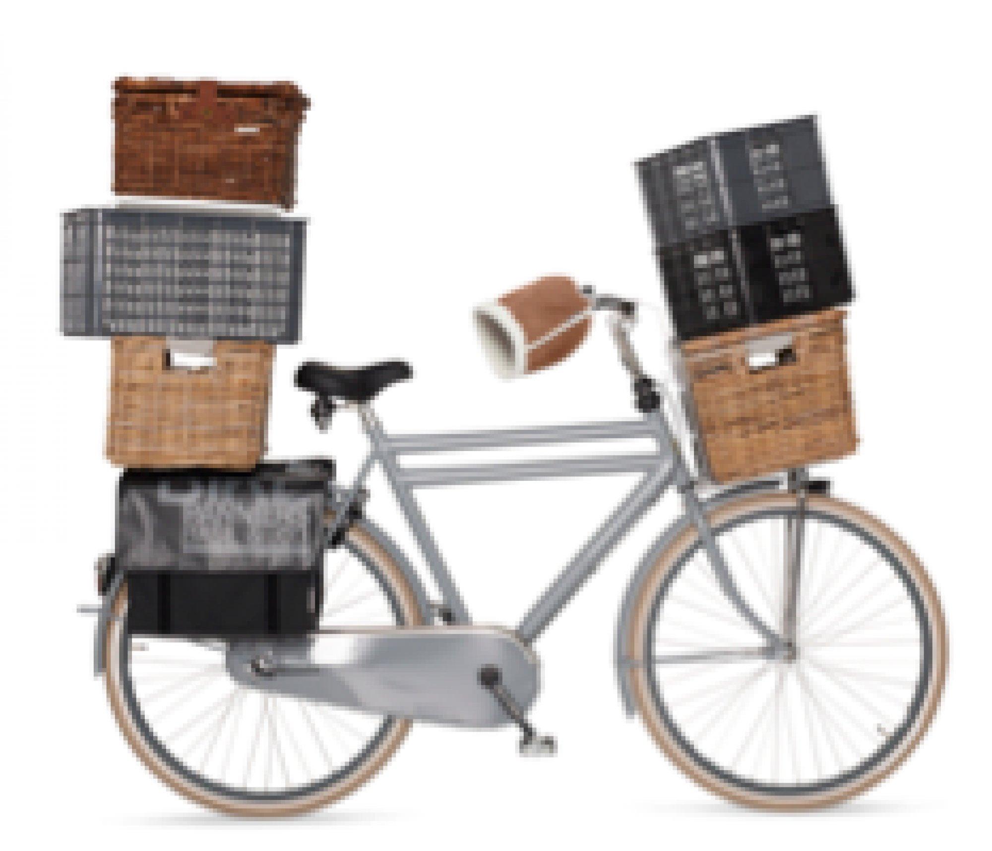 caisse et panier v lo sur mes v los hollandais. Black Bedroom Furniture Sets. Home Design Ideas